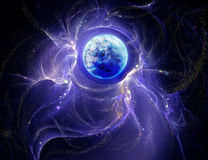 luminous nebula Royalty Free Stock Photo