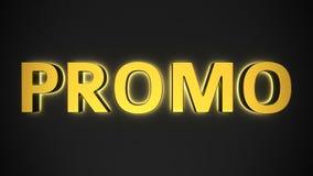 Luminous PROMO Stock Image