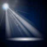 Luminous Rays Stock Photography