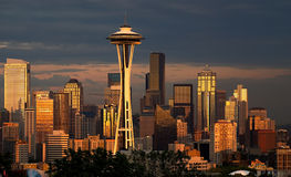 Luminous Seattle Royalty Free Stock Images