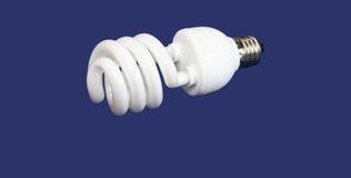 Luminous tube lamp Stock Photo