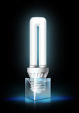 Luminous Tube Lamp Royalty Free Stock Images