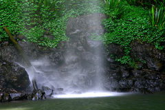 Luminous Water. Rock pool, Gold Coast Hinterland, Queensland, Australia Royalty Free Stock Photo