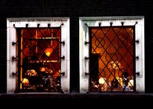 Luminous Windows Royalty Free Stock Images