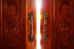 Lumière de porte ouverte Image libre de droits