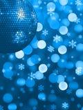 Lumière de réception de Noël Photographie stock