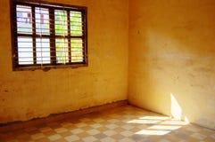 Lumière du soleil dans une salle Image libre de droits