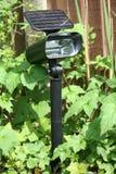 Lumière solaire de jardin Images libres de droits