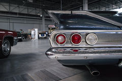Lumières classiques de voiture Photographie stock
