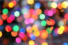 Lumières de disco Photo libre de droits