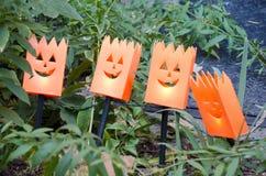 Lumières de Halloween Photo stock