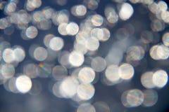 Lumières de l'eau Images stock