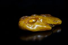 Lump of Amber Royalty Free Stock Images