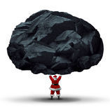Lump Of Coal Symbol Royalty Free Stock Images