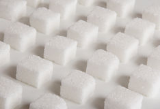 Lump sugar Stock Photo