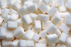 Lump sugar. Group at the market royalty free stock image