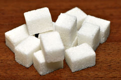 Lump sugar pile Stock Photography