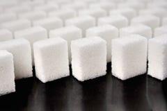 Lump sugar - studio shot Stock Photo