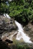 Lumpee Waterfall in Souther Thailand stock image
