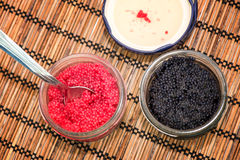 Lumpfish caviar Royalty Free Stock Photography