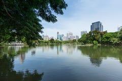 Lumphini Park in Bangkok Royalty Free Stock Photo