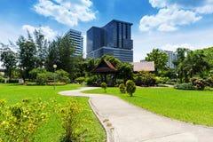Lumphini Park; Bangkok Stock Image