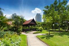 Lumphini Park; Bangkok Royalty Free Stock Image