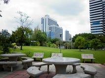 Lumphini Park - Bangkok. Thailand (2013 Royalty Free Stock Image