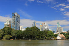 Lumphini Park a place to relax in Bangkok Stock Images