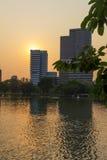 Lumphini park, Tajlandia Obrazy Royalty Free