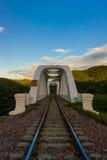 Lumphun railway branco Fotografia de Stock Royalty Free