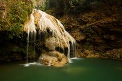 Lumphun Tailandia de la cascada del luang de la KOH Foto de archivo libre de regalías