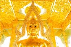Lumphun Tailandia del phratajhaduang del wat de la estatua de Buda Fotos de archivo