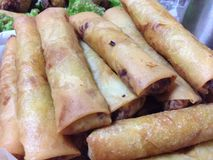 Lumpia. Filipino cuisine ( Lumpiang Stock Photography
