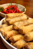 Lumpia, Indonesisch Voedsel Royalty-vrije Stock Foto's