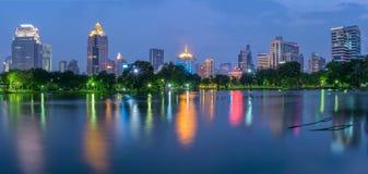 Lumpini公园 免版税图库摄影