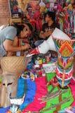 Ежегодный фестиваль Lumpini культурный Стоковое Изображение