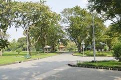 Lumpini Jawny park Zdjęcie Stock