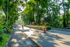 Lumpini Park in Bangkok Royalty Free Stock Photography