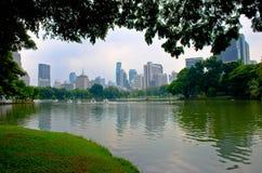 Lumpini park Stock Image