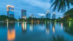 Lumpini-Park, Bangkok Thailand stockfotografie