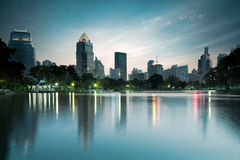 Lumpini park Stock Photography