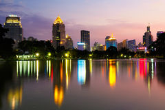 Lumpini park Royalty Free Stock Photos