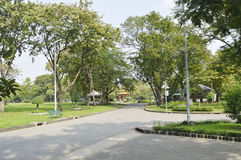 Lumpini Public park Stock Photo