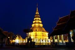 lumpoon παγόδα Ταϊλάνδη Στοκ εικόνα με δικαίωμα ελεύθερης χρήσης