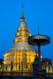 lumpoon παγόδα Ταϊλάνδη Στοκ Εικόνες