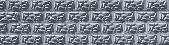 Lumpy Block Pattern. Lumpy block wall great for a fill or background Stock Image