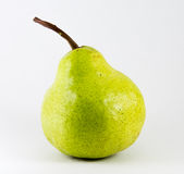 Green pear Royalty Free Stock Photography