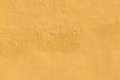 Lumpy Yellow Wall Background Royalty Free Stock Photo