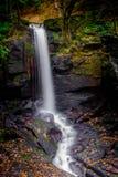 Lumsdale瀑布,马特洛克 免版税库存照片